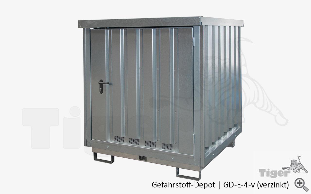 Containern f sser lagern gefahrstoff depot tiger for Depot bergisch gladbach