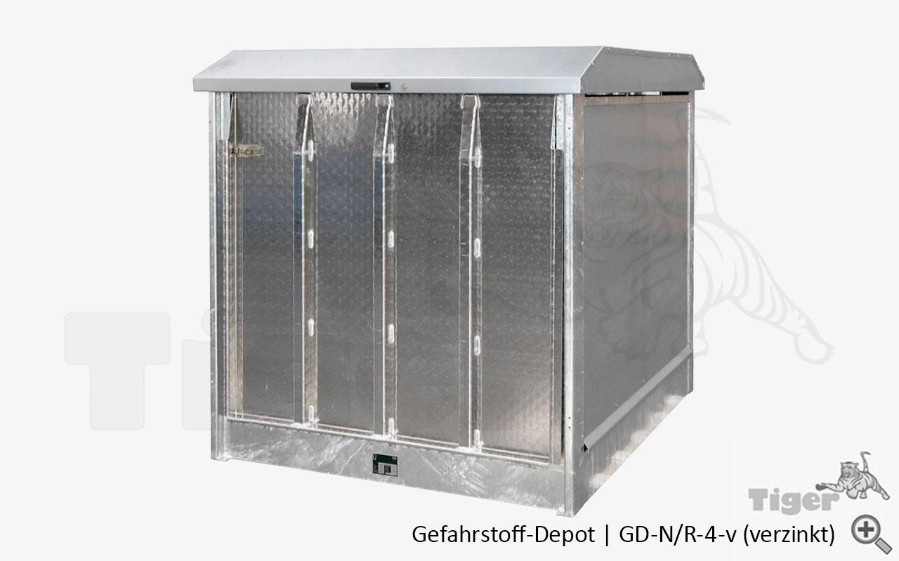 f sser ibc container sicher lagern gefahrstoff depot tiger umweltlagertechnik. Black Bedroom Furniture Sets. Home Design Ideas