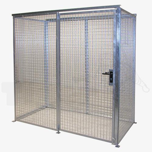 gasflaschen container sichere gefahrstofflagerung von bis zu 104 gasflaschen tiger. Black Bedroom Furniture Sets. Home Design Ideas